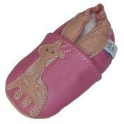 Dotty Fish - Soft Leather Baby & Toddler Shoes - Girls - Animals