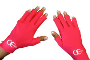 OC Nails UV Shield Glove For Gel Manicures With UV/LED Lamps