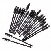 100Pcs Black Eyelash Mascara Brushes False Lash Eyelash Extension Applicator Makeup Disposable