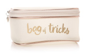Junction 18 - Shruti - Ta Da Bag Of Tricks Cosmetic Bag White