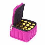 Lalang Essential Oil Carrying Case Holder Bags for 16 Bottles for 15ML, 10ML, 5ML