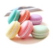 Transer® Sweet 6 PCS Mini Earphone SD Card Macarons Bag Storage Box Case Carrying Pouch