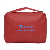 Toiletry Bag - All4you Multifunction Travel Makeup Case Cosmetic Bag Zip Waterproof Breathable Bag