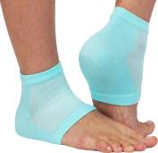 NatraCure Vented Moisturising Gel Heel Sleeves (608-M CAT) by NatraCure