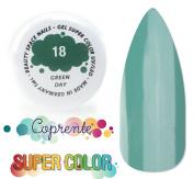 Super Colour - 018 Green Day-masking/UV gel-coloured LED 5 ml