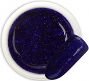 Violet Sarir 032 colour GLITTER GEL Bsn Professional 5 ml