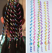 SwirlColor 6 PCS/Set Women Girl Hair Styling Twister Clip Braider Tool DIY Accessories