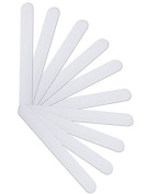 Pack of 10 - Cosmetic Cream Spatula Plastic Spatula White