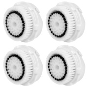 4x Hofoo® Brush Heads. Replacement for Clarisonic Sensitive Facial Cleansing. Compatible with Mia 1, 2, 3(Aria), SMART Profile, Alpha Fit, Plus, Sonic Radiance.