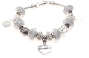 Granddaughter 21st Birthday Charm Bracelet with Gift Box Women's Jewellery