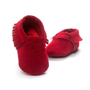 Trendy Suede Soft Sole Boy Girl Baby Kid Comfortable Warm Shoe Moccasin 11-13cm