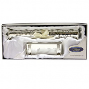 Silverplated Christening Day Certificate Holder/ New
