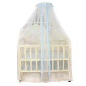 Tonsee Summer Baby Bed Mosquito Mesh Dome Curtain Net for Toddler Crib Cot Canopy