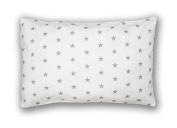 Decorative Pillowcase 40 cm x 60 cm Stars White