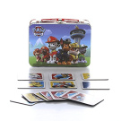 Paw Patrol 72 Cards Memory Match Game - In a beautiful paw patrol tin carry case - family game