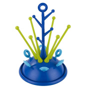 Yunt Tree Shape Useful Baby Infant Bottle Dryer Rack,Sprout Drying Rack for Baby Bottles,Nipples,Cups,etc.