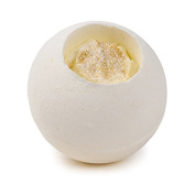 Gold Top Vanilla Milkshake Scented Whole Ball Bath Fizzers Bombs 180g