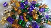 Tube rings cuffs metal clips rasta wraps beads Faux Locks, Dreadlocks.Dread Locs