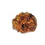 Mytoptrendz® Natural Brown Tone Small Tiny Mini Elastics Hair Tie Ultra Elastic Rubber Bands