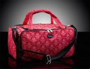 BBeautylounge Pink Pattern Bag Mobile Glamour Bag Beautician Cosmetics Toolbag Case