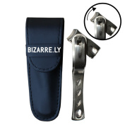 HIGHEST QUALITY Long Handle Toenail and Fingernail Clipper By Bizarre.ly with 360 Degree Rotating Swivel Head for BEST Positioning. Pedicure Tool to EASILY Cut & Trim Normal Nails or Prevent & Fix Sore Ingrown Nails