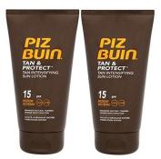 Piz Buin Tan Intensifier Duo Spf 15 Sun Lotion (pack of 2 ) 150 ml each