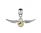 Official Harry Potter silver plated slider charm - Golden Snitch