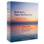 Ancient Secrets Aromatherapy Dead Sea Mineral Baths Unscented 0.5kg. (a) - 2pc