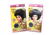 Super Jumbo Satin Bonnet & Sleep Cap Duo Bundle