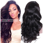 Premier Silk Top Lace Front Human Hair Wigs Glueless Body Wave Brazilian Remy Hair 180% Density Natural Loose Wave 10cm X 10cm Silk Base Lace Wigs for Black Women, Wet Wavy Hair wig