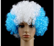 Coloured wig wig Halloween Props