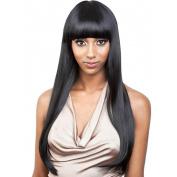 European and American fashion, real black wig