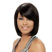 Fashion, Real Black Bob Wig Ladies Hair