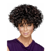 Wigs for Women Long Black Wig Short Afro Wig Curly Wig Women's Synthetic Wigs Short African American Wigs Short Wigs for Black Women Brazilian Wigs