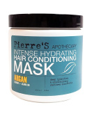 Pierre's Apothecary intense Hydrating Hair Conditioning Mask Argan Coconut Jojoba Oil 470ml
