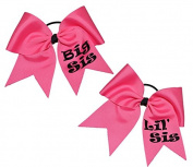 The Ultimate Bow - Sisters Cheer Bow Set Big Sister Lil' Sister