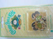 Cabbage patch kids brown hair girl ponytail set