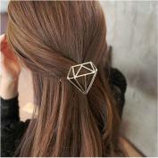 Joyci 1Pcs Elegance Women's Hair Pin Simple Style Diamond Ponytail Hair Clip