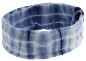Capelli New York Ladies Tubular Headwrap with Tie Dye Print Blue One Size