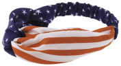 Capelli New York Ladies Stars and Stripes Headwrap Americana One Size