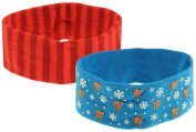 Capelli New York Ladies Two Pieces Stretch, Printed Headbands