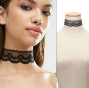 Aukmla Lace Choker Necklace Jewellery for Women and Girls