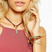 Aukmla Pendant Necklace, Choker Necklace Jewellery for Women and Girls