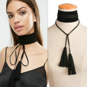 Aukmla Fashion Choker Necklace Jewellery with Pendant for Women and Girls