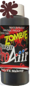 Face Painting Makeup - ProAiir Waterproof Makeup - 2.1 oz (60ml) Zombie Scab