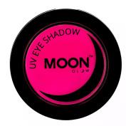 Moon Glow - Blacklight Neon Eye Shadow 3.5g Pink - Glows brightly under Blacklights / UV Lighting!