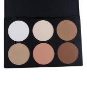 Fheaven Pro 6 Colour Neutral Warm Eyeshadow Palette Eye Shadow Makeup Cosmetics