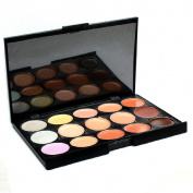 Fheaven Fashion Pro 15 colour Eyeshadow Camouflage Concealer Palette Makeup Salon Cream