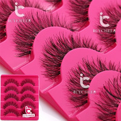Makeup False Eyelahses 5Pairs Fashion Eye Extension Lashes Long Handmade Natural