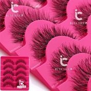 Makeup False Eyelahses 5Pairs Fashion Eye Extension Lashes Long Handmade Natural